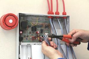 Fire alarm installation panel