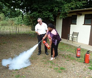 Fire Safety Training Demo