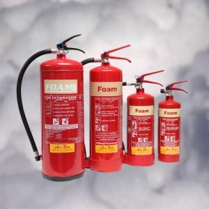 Foam fire extinguisher models