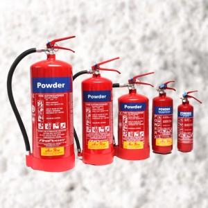Powder fire extinguisher models