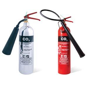 Carbon dioxide CO2 Extinguisher