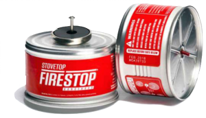 Stovetop Firestop Canister